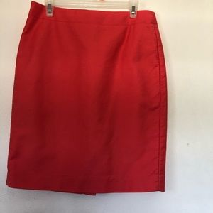 J Crew Pencil Skirt in Hot Pink.